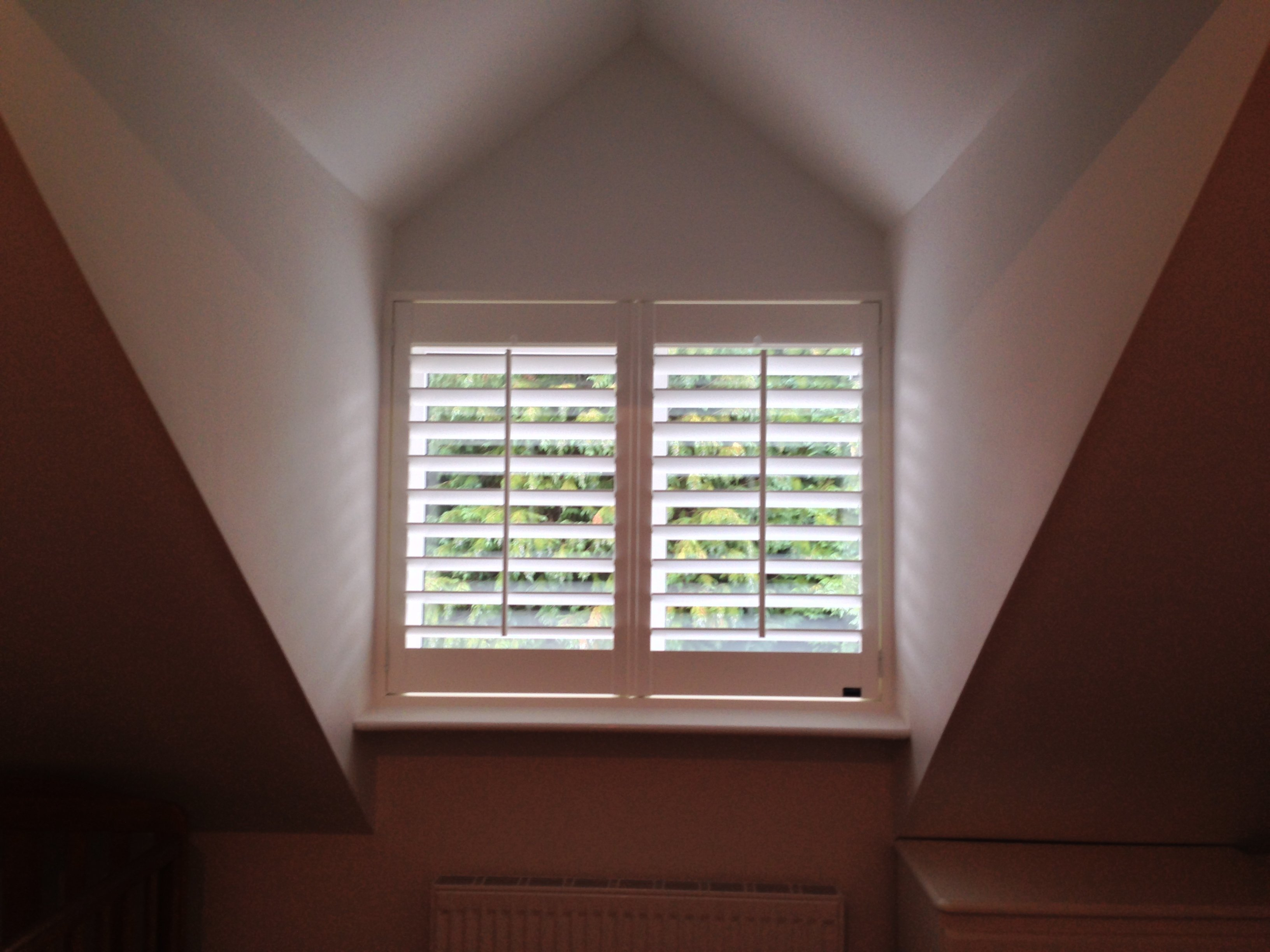 Perfect solution for a dormer window