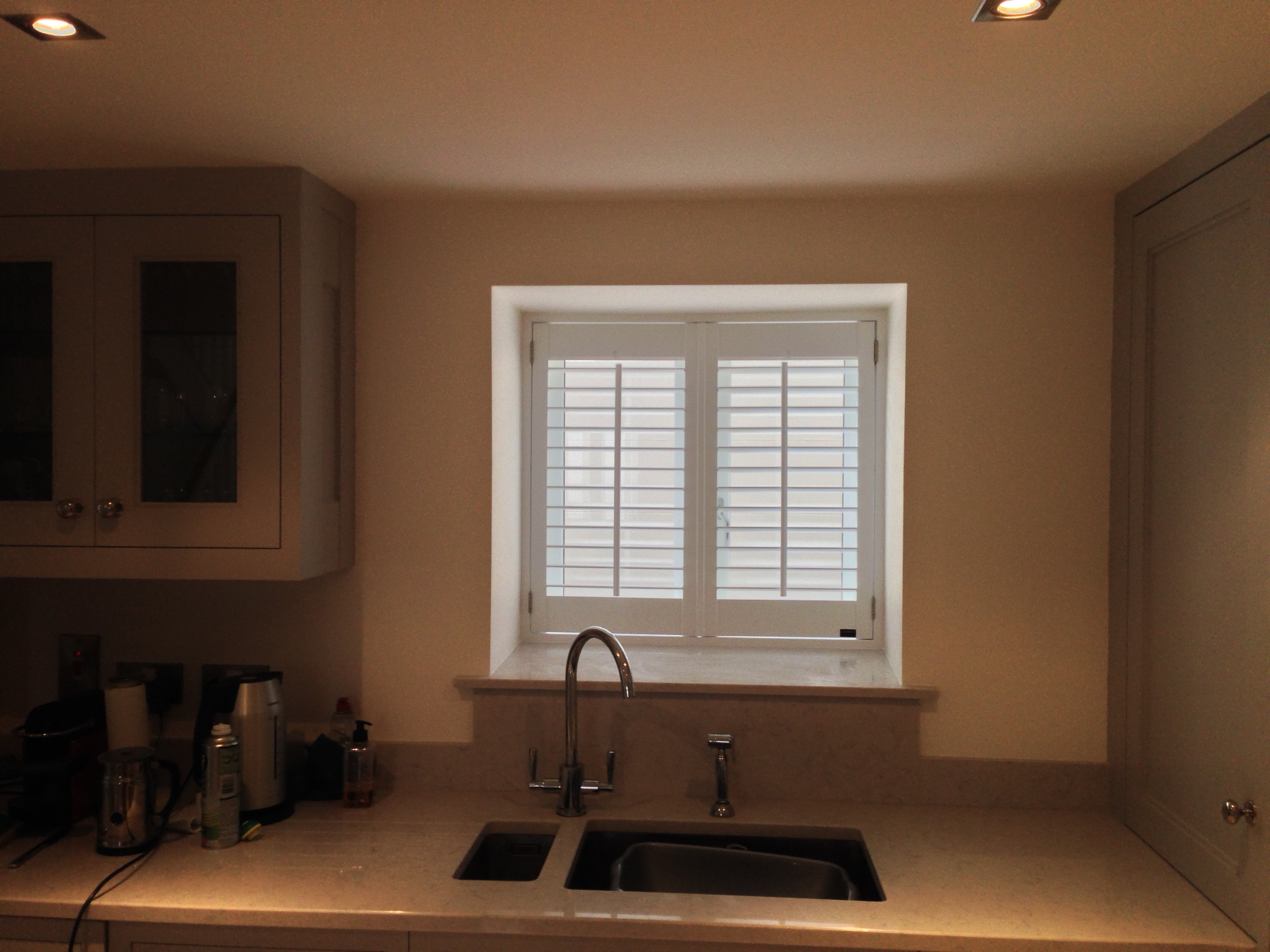 Shutters for deep set windows supplied and fitted by Adareshutters