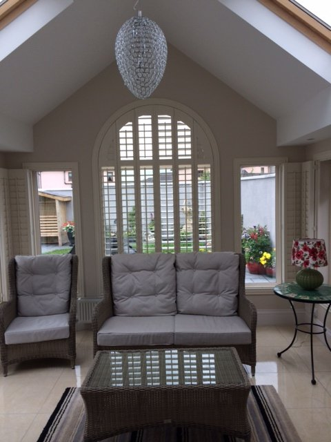 Spectacular shutters supplied and fitted by Adareshutters